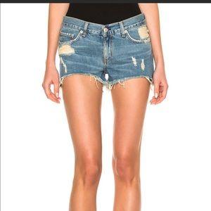 NWT Rag & Bone cut off jean shorts Winnie